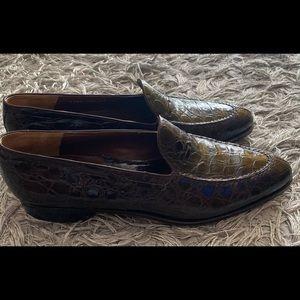 Mens Mauri Alligator Shoes size 12